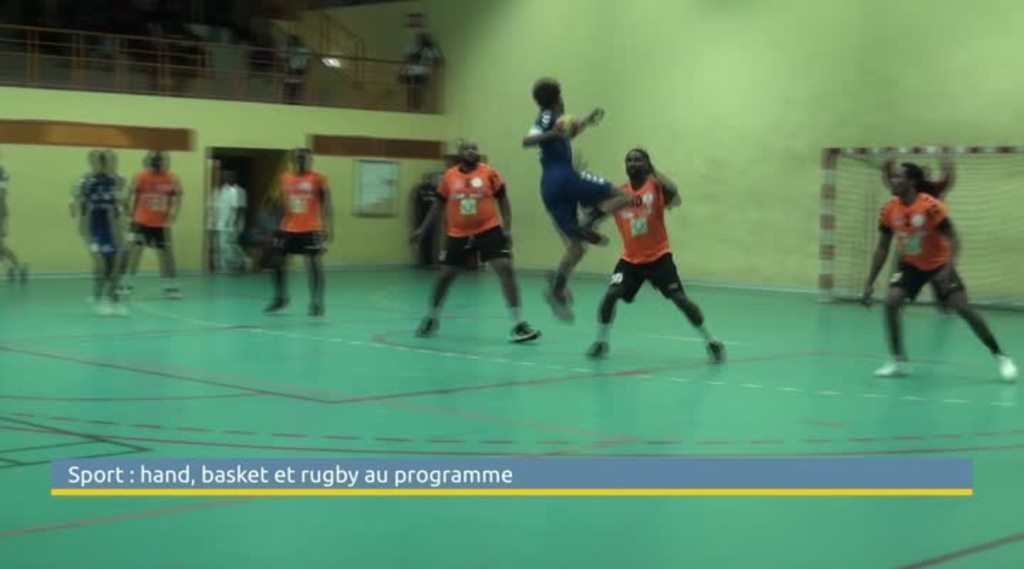 Sport : les premiers résultats du week-end en handball, basket et rugby - viàAtv