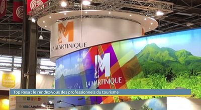 Salon top resa : la Martinique s'affiche à Paris