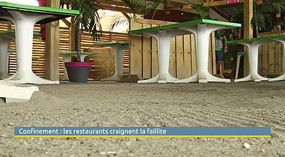 Confinement : les restaurants craignent la faillite