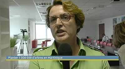 Planter 1 000 000 d'arbres en Martinique