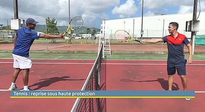 Tennis : reprise sous haute protection