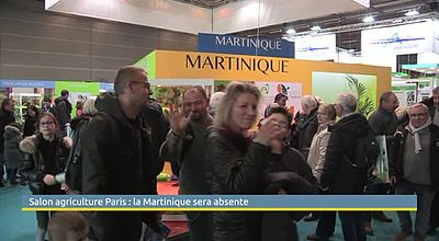 Salon agriculture Paris : la Martinique sera absente